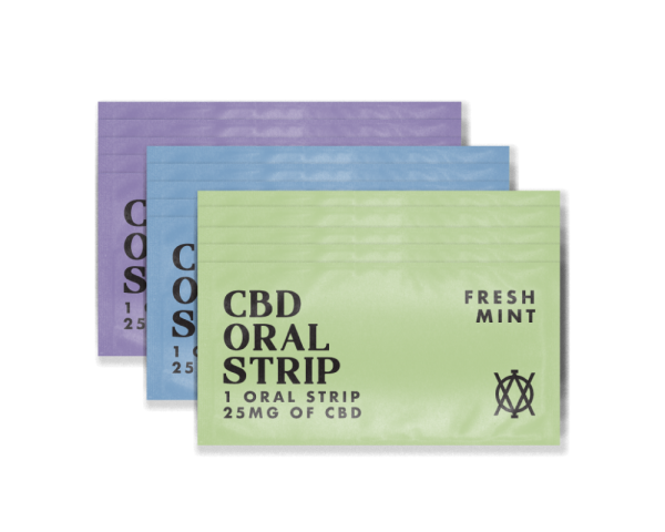 Elevar Hemp CBD Oral Strips Starter Kit 15 Strips