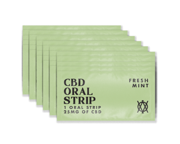 Elevar Hemp CBD Fresh Mint CBD Oral strips 30 strips