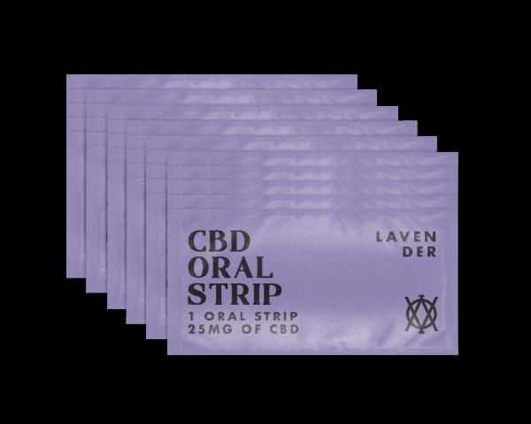 Elevar Hemp CBD Lavender CBD Oral strips 30 strips